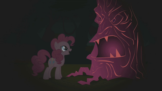 File:Pinkie Pie laughing at first tree S1E02.png