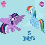 Season 4 promo Twilight and Rainbow Dash