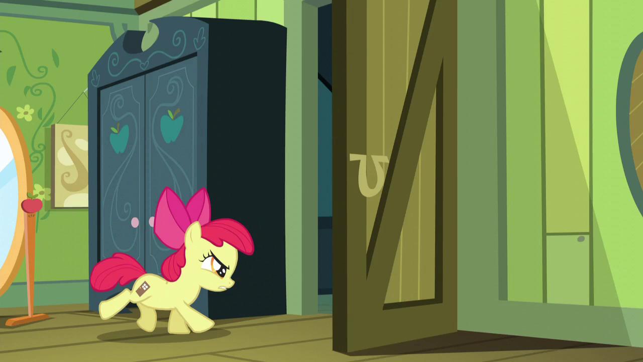 Image apple bloom with door cutie mark my for My little magic door