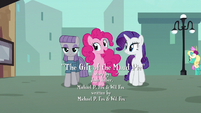 "Pinkie ""since Maud's getting her rocktorate nearby"" S6E3"