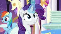 Rarity smells something S5E15