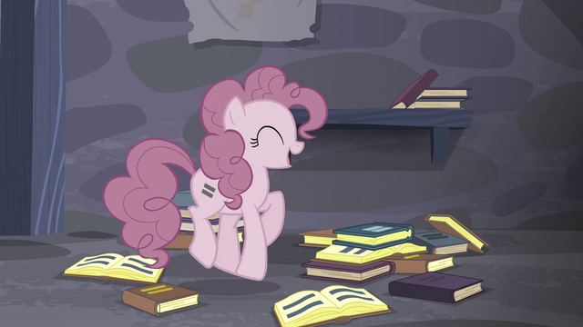 "File:Pinkie ""and we can just walk out!"" S5E02.png"