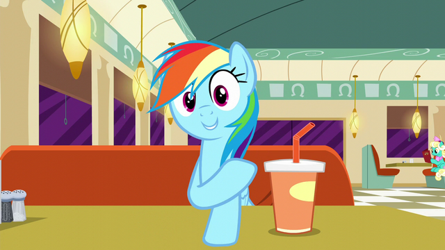 "File:Rainbow Dash ""I hired them all!"" S6E9.png"