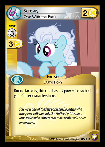 File:Screwy, One With the Pack card MLP CCG.jpg
