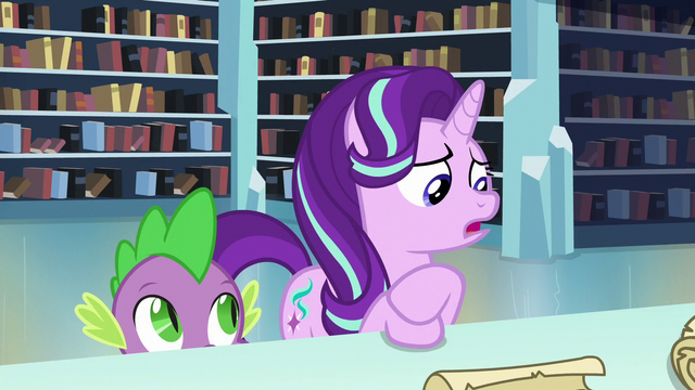 "File:Starlight ""Sunburst and I don't have anything in common anyway"" S6E2.png"
