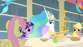 Celestia and Fluttershy bond over love of animals S01E22.png
