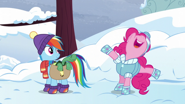 File:Pinkie Pie planning a party for Tank S5E5.png
