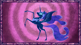 Nightmare Moon depicted in legend S1E1.png