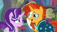 "Sunburst ""don't see how that would help"" S6E2"