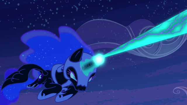File:Nightmare Moon firing at Princess Celestia S4E02.png