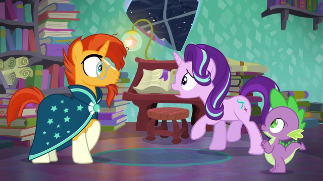 "File:Starlight ""it's an Alicorn!"" S6E2.png"