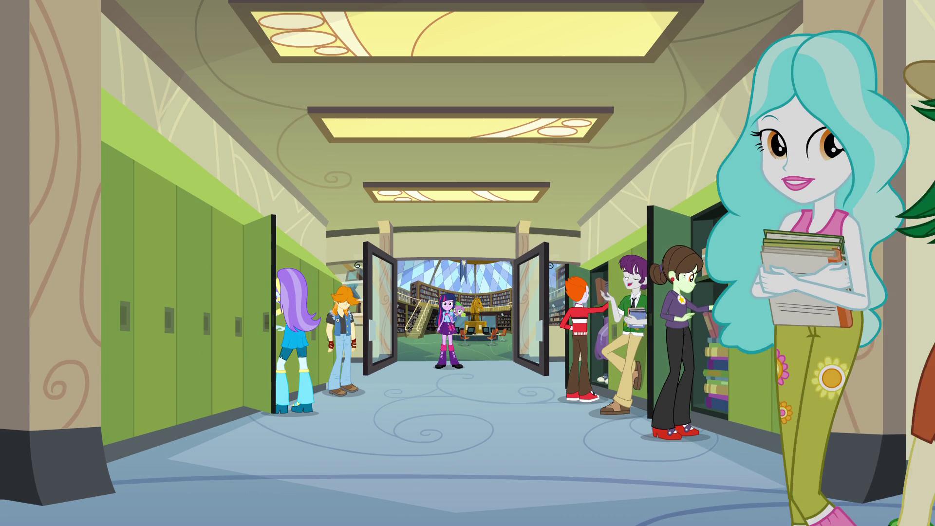 Danny Phantom Girls Locker Room