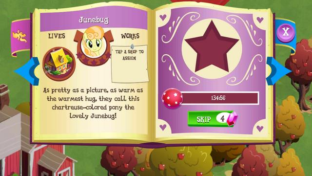 File:Junebug album page MLP mobile game.png