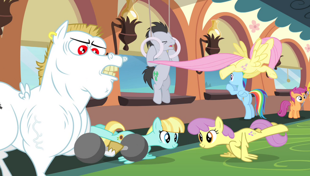 File:Ponyville teams training S4E24.png