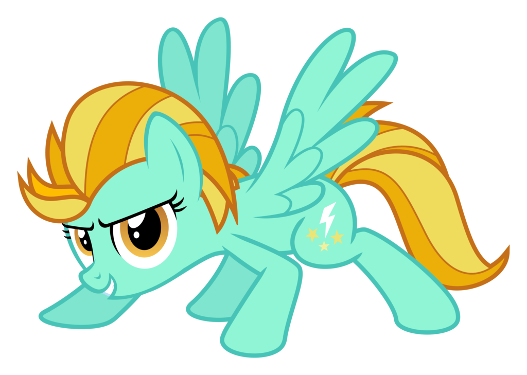 My Little Pony Lightning Dust Coloring Pages : Image fanmade lightning dust is ready svg by hankofficer