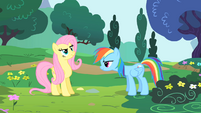 Fluttershy about to cheer S1E16