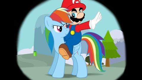 Let's Play Flying Rainbow Pony-Mario and RD