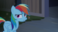 "Rainbow Dash ""like a ghost?"" S4E03"