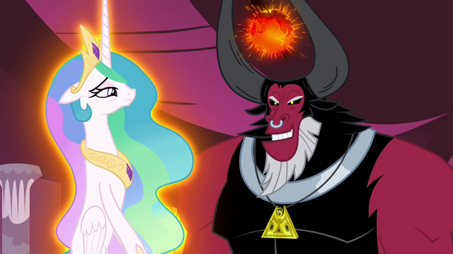 File:Tirek levitating Celestia S4E26.png
