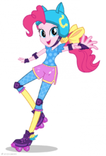 Friendship Games Pinkie Pie Sporty Style artwork