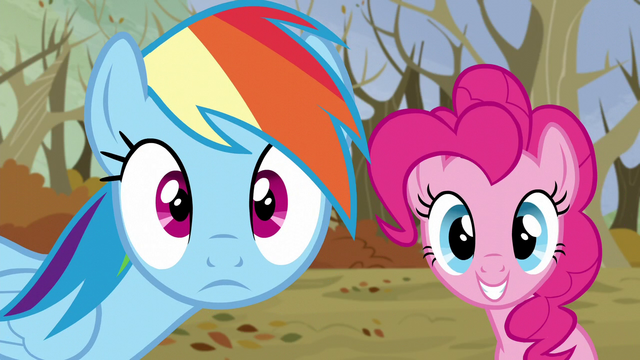 File:Rainbow and Pinkie sees their friends S5E5.png