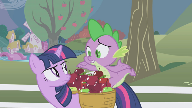 "File:Spike shrugging ""what?"" S1E03.png"
