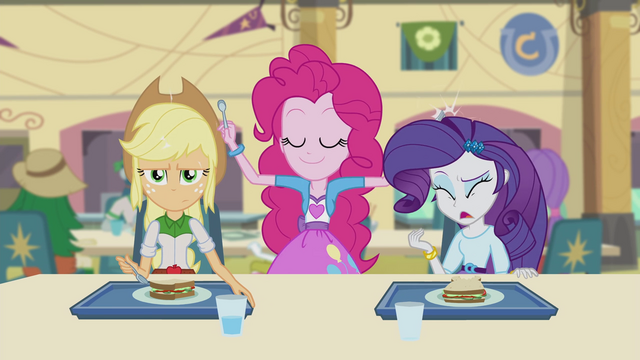File:Pinkie drumming on Applejack and Rarity EG2.png
