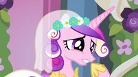 Princess Cadance why does she S2E26