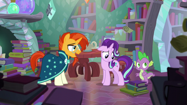 "File:Sunburst ""you showed up thinking..."" S6E2.png"