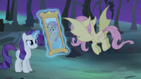 Rarity levitating mirror S4E07