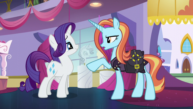"File:Sassy Saddles ""run everything following your rules"" S5E14.png"