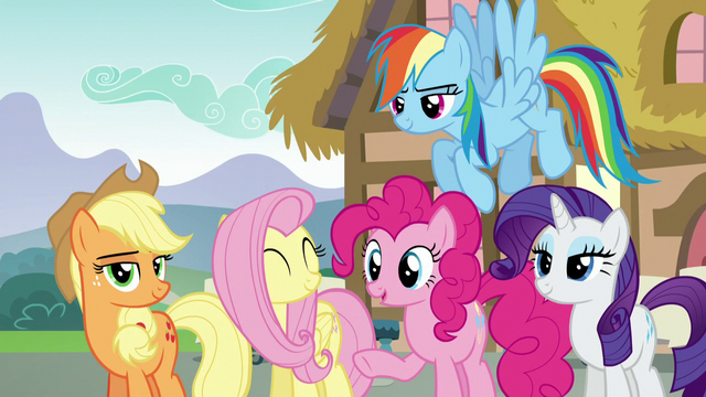 "File:Pinkie Pie ""he makes a good point"" S5E22.png"