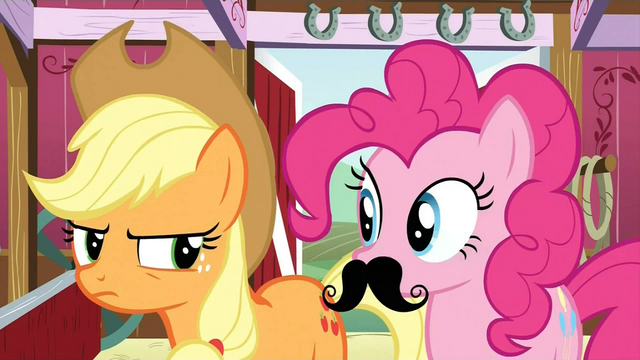File:Pinkie Pie moustache S3E09.png