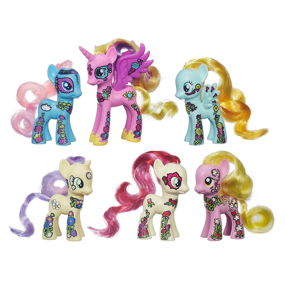My Little Pony Figure  Lily Blossom Loose  Teslas Toys