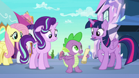 """Spike """"you've already done the work"""" S6E1"""