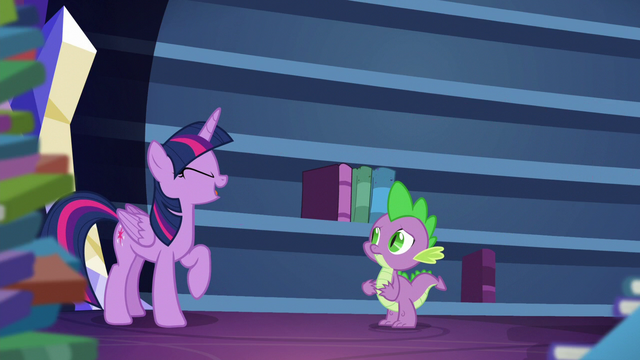 "File:Twilight ""Can you think of anything more relaxing?"" S5E22.png"