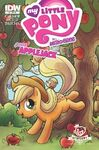 MLP micro series issue 6 newburry comics cover