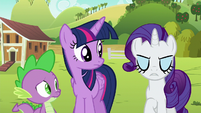 """Rarity annoyed """"then yes"""" S6E10"""