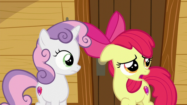 """File:AB """"it's lookin' like cutie mark problems are few and far between"""" S6E4.png"""
