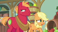 "Applejack ""we've been tryin' to keep it quiet"" S6E23"
