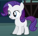 Sweetie Belle as young Rarity ID S3E5