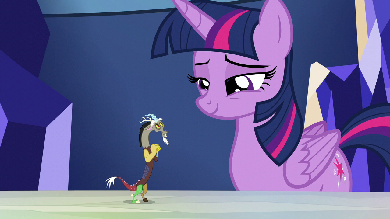 Twilight Sparkle And Discord In Love Image - Twiligh...