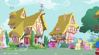 Regular day in Ponyville S1E23