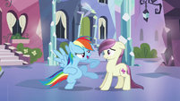 Rainbow Dash 'Gotta know something' S3E1