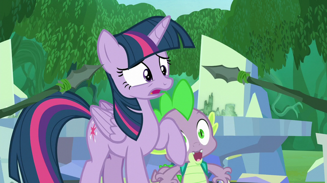 File:Spears being pointed at Twilight S5E26.png