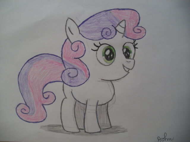 File:FANMADE Sweetie Belle drawing.jpg