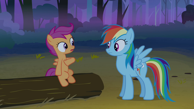 File:Scootaloo talking to Rainbow Dash S3E6.png