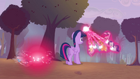 Twilight casting transformation magic S4E16