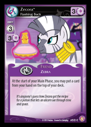 File:Zecora, Flashing Back card MLP CCG.png