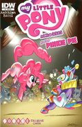 MLPFIM Pinkie Pie Micro Source Comics RE Cover